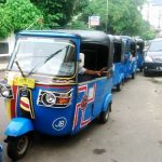 Bajaj The Jakarta Three Wheeler