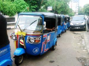Bajaj The Jakarta Three Wheeler