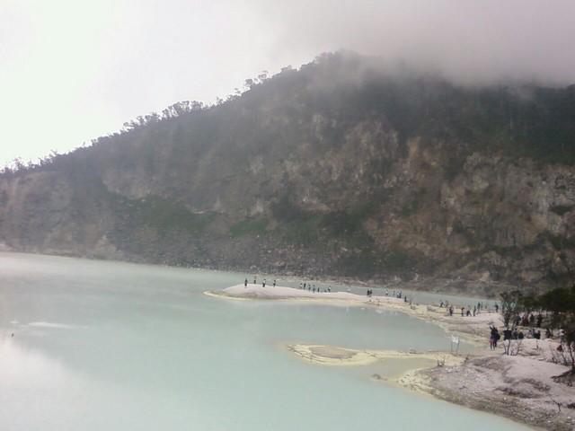 Mount Patuha White Crater