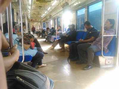 Indonesia Commuter Train Service