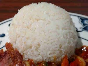 Nasi steamed rice