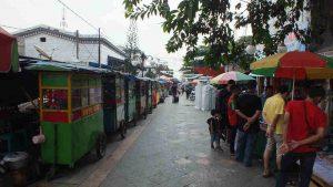 Pedestrian Walk In Indonesia