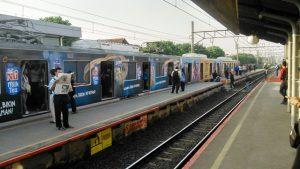 Indonesia Commuter Train