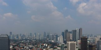 The most crowded cities in Indonesia