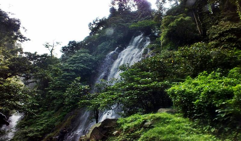 The beautiful Cigamea watefall