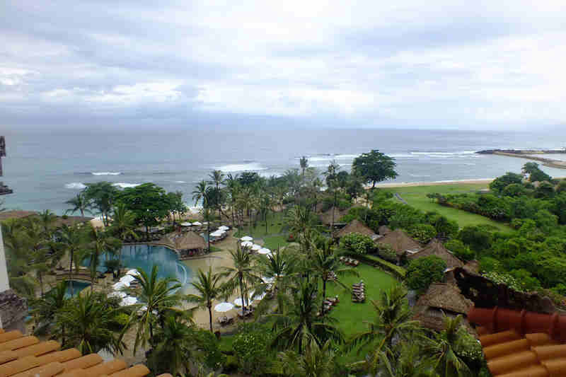 Beuatiful Landscape of Nusa Dua Beach Bali