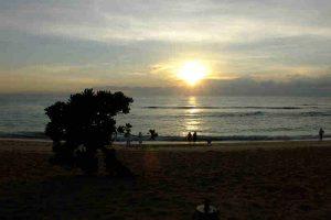Sunrise at Nusa Dua Beach Bali