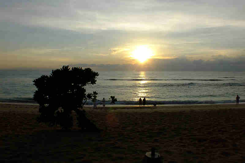 Sunrise at Nusa Dua Beach Bali