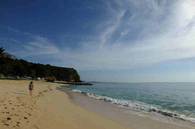 Nusa Dua Beach Landscape