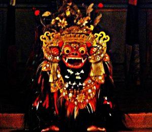 Barong Figure in Kesiman Village, Bali