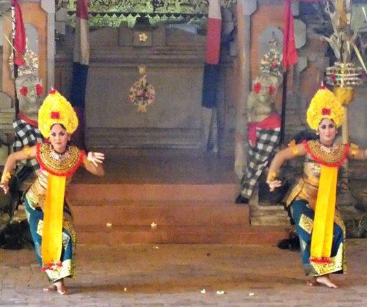 Characteristic Bali Dance : Dynamic