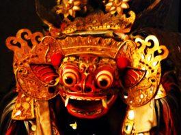 Barong Mask Kesiman Village , Bali