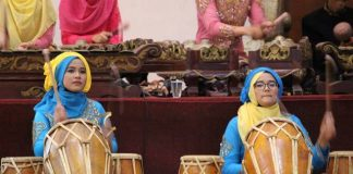Kendang or Gendang - Indonesia Traditional Music Instrument A