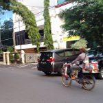 mobile coffee kiosk in Jakarta A