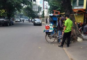 mobile coffee kiosk in Jakarta D