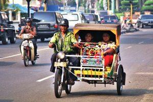 Medan Motorized Three wheeler - Betor Becak bermotor
