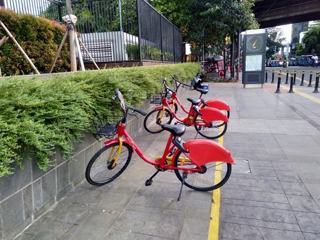 Go Wes Bike sharing in Jakarta 2