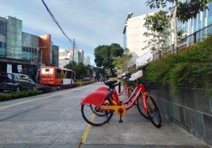GoWes Bike (rental) sharing in Jakarta